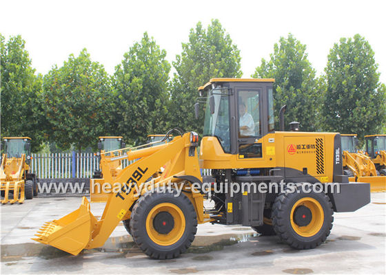 Çin SINOMTP Wheel Loader T939L With Cummins Engine 4BT3.9-C100 With Rock Bucket Tedarikçi