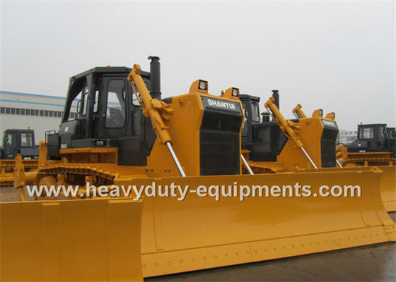 Çin 320Hp Shantui Dozer Hydraulic System Angle Blade Single Ripper Optional Tedarikçi