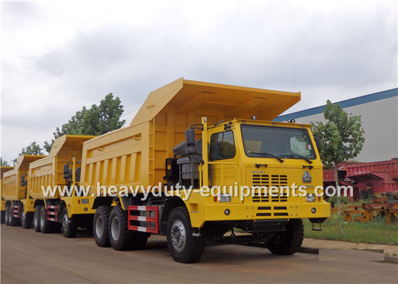 Çin Mining tipper truck / dump truck bottom thickness 12mm and HYVA Hydraulic lifting system Tedarikçi
