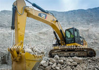 Çin Caterpillar Hydraulic Excavator Heavy Equipment , 5.8Km / H Excavation Equipment şirket