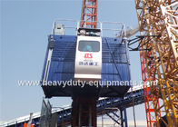 36M / Min Construction Hoist Elevator , Construction Site Elevator Safety Vertical Transporting Equipment