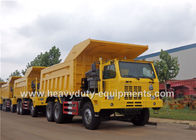 Çin Mining tipper truck / dump truck bottom thickness 12mm and HYVA Hydraulic lifting system şirket