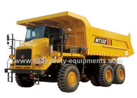 Çin 95 tons Off road Mining Dump Truck Tipper  405kW engine power drive 6x4 with 50m3 body cargo Volume şirket