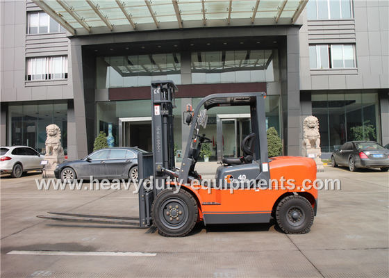 Çin Sinomtp FD40 diesel forklift with Rated load capacity 4000kg and LUOTUO engine Fabrika
