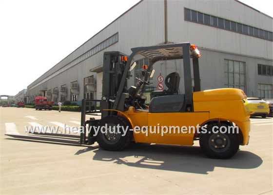 Çin Sinomtp FD50 Industrial Forklift Truck 5000Kg Rated Load Capacity With ISUZU Diesel Engine Fabrika