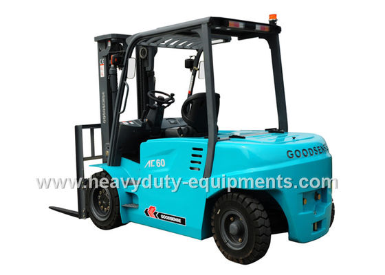Çin SINOMTP 6ton capacity forklift with spacious workplace and  full view mast Fabrika
