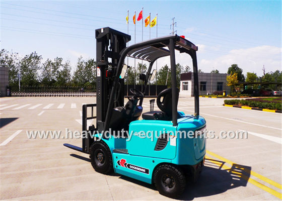Çin SINOMTP 3 wheel electric forklift with 1800kg rated load capacity Fabrika