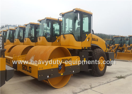 Çin Single Drum 14t Vibratory Compactor Road Roller Construction Equipment SDLG RS8140 Fabrika