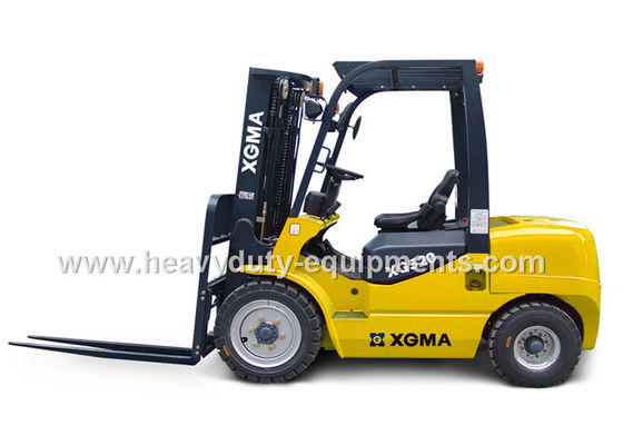 Çin 2000 Kg Loading Industrial Forklift Truck 1650L Wheel Base With High Air Inflow Silencing Fabrika