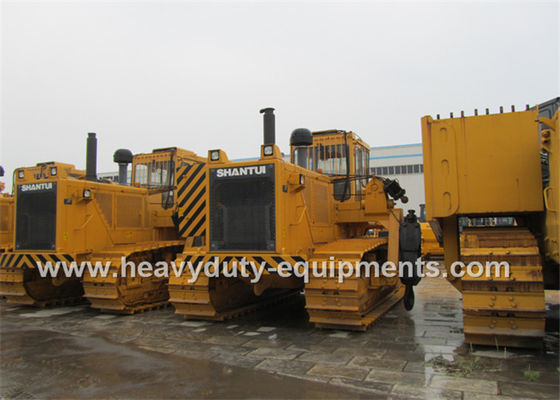 Çin Shantui Crawler Bulldozer machine SD32W with 320hp Cummins Engine 38T Operation Weight Fabrika