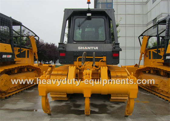 Çin 25.8T Operating Crawler Bulldozer Machine Three Shank Ripper 30° Gradeability Fabrika