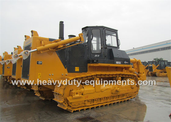 Çin 12M3 Dozing Capacity Shantui SD32 Bulldozer Semi U Blade 228.6mm Pitch Fabrika