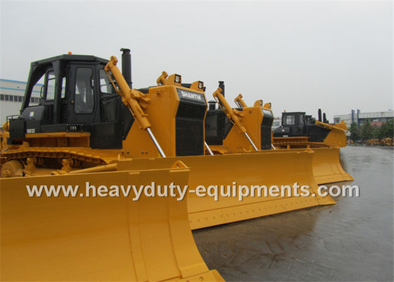 Çin Crawler Type Rock Construction Bulldozer Straight Tilt Blade 10M3 Dozing Capacity Fabrika