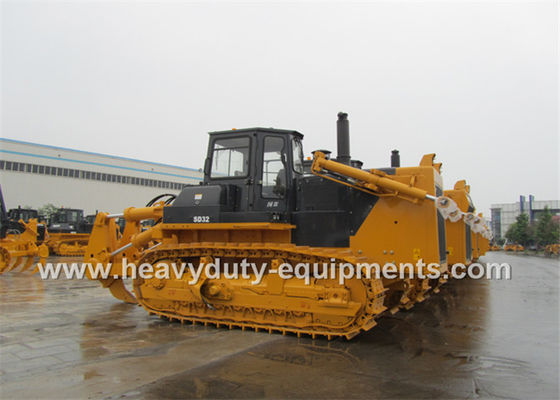 Çin Straight Tilt Blade Crawler Bulldozer 1560mm Lift Height  With Cummins Engine Fabrika