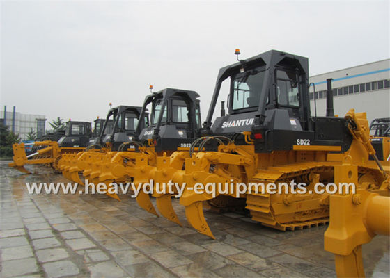 Çin Heavy Earth Moving Equipment Shantui Bulldozer Straight Tilt Blade For Desert Fabrika