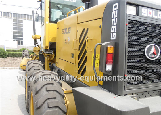 Çin Mechanical Road Construction Equipment Full Wheel Driving Motor Grader ZF Transmission Fabrika