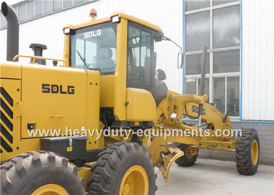 Çin ROPS cabin SDLG Motor Grader G9190 Road Construction Equipment With Middle Rock Ripper Fabrika