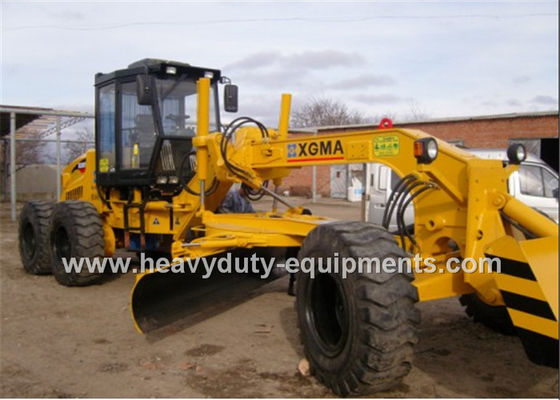 Çin XGMA XG3165C grader with 180hp Cummins engine used in gravel road Fabrika