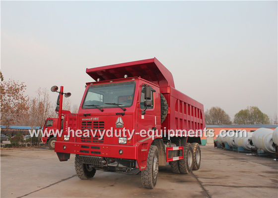 Çin 70 ton 6x4 mining dump truck with 10 wheels 6x4 driving model HOWO brand Fabrika