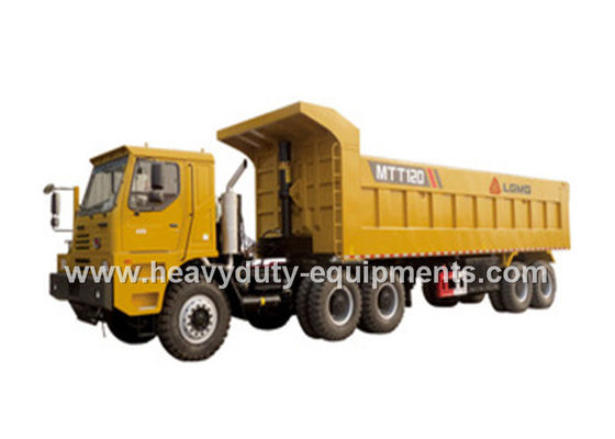 Çin 100 tons Off road Mining Dump Truck with 309kW engine , 50m3 body cargo Volume Fabrika