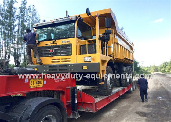 Çin 60 tons Off road Mining Dump Truck Tipper  306kW engine power drive 6x4 with 34m3 body cargo Volume Fabrika